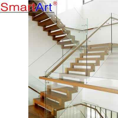 Indoor stair modern style staircase glass staircase fashional staircas...