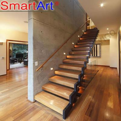 Stainless staircase popular staircase glass railing staircase