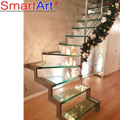 Staircase new design customized staircase design glass staircase