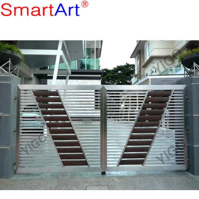Indoor steel gate hot sale stainless gate big gate