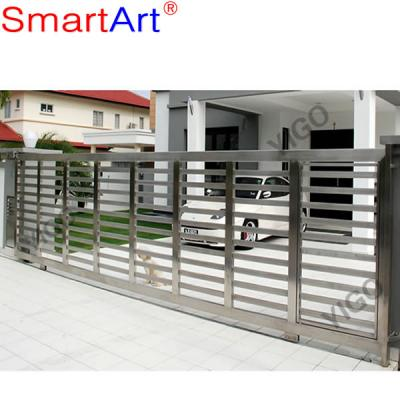 Stainless steel gate high quality steel gate