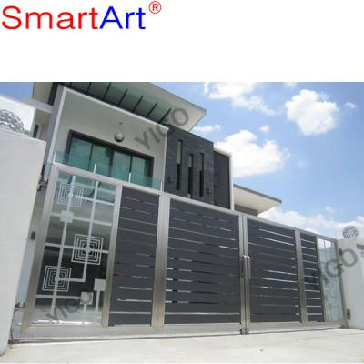 Strong steel gate house stainless gate garden gate