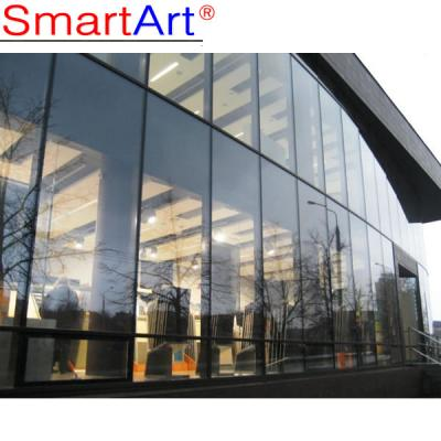 Glass curtain wall tempered glass partition