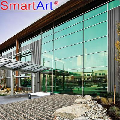 outdoor glass curtain wall