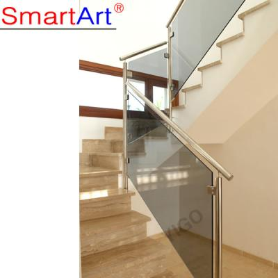 Stair glass railing prices