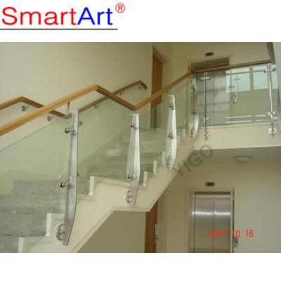 glass railing for stair