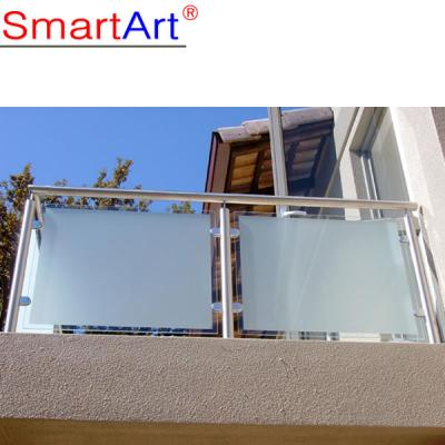 stainless steel glass deck railing balustrades