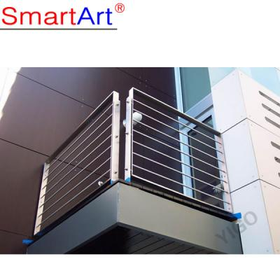 Balcony stainless steel balustrade price