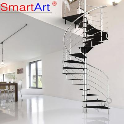 Hot Selling Carbon Steel Spiral Staircase