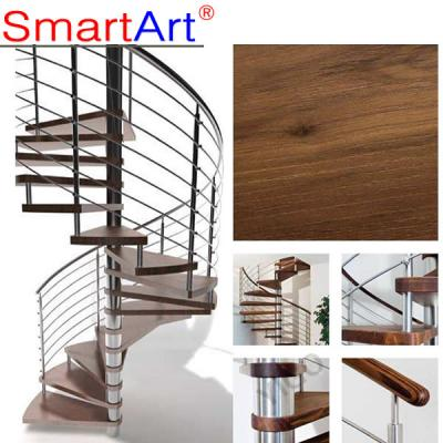 Classic Timber Circular Staircase